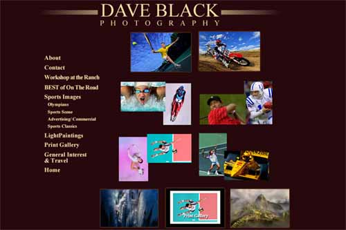 dave black homepage