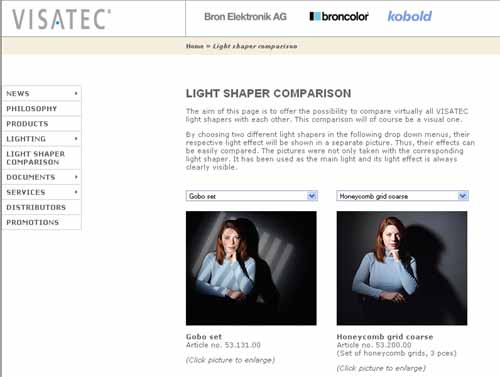 light modifiers comparison
