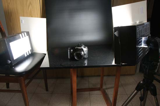 basic setup for products photography