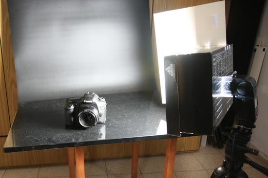 one light product photography setup